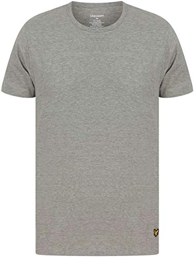 Lyle & Scott Herren 3er Pack Maxwell Crew T-Shirts, Mehrfarbig, XXL