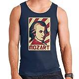 Photo de Wolfgang Amadeus Mozart Retro Propaganda Men's Vest par