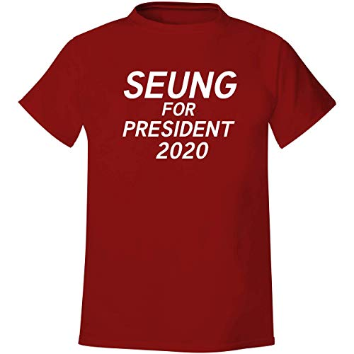 Seung For President 2020 - Men's Soft & Comfortable T-Shirt, Red, Large