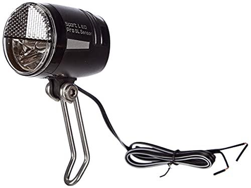 Büchel LED Frontscheinwerfer Sport LED Pro, 45 Lux, mit Standlicht und Sensor, StVZO zugelassen, schwarz, 51250836