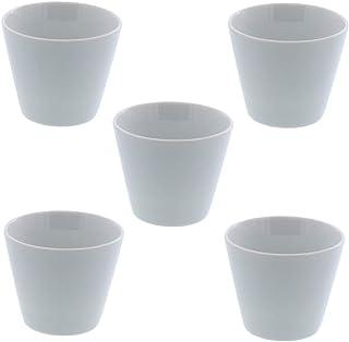テーブルウェアイースト マルチカップ Style(スタイル)クリアホワイト 5個セット コップ 食器セット 白い食器