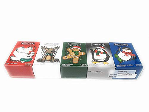 Swiss Miss Hot Cocoa Gift Pack (5 Flavors, 4 Envelopes Each, Total of 20 Servings)
