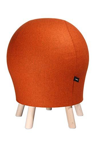Topstar 71260 L54 Sitness 5 Alpine - Taburete, Color Naranja