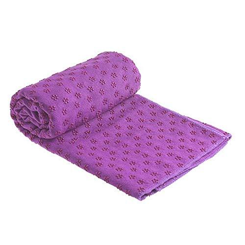 JWGD Antiglisse Coton Tapis de Yoga Tapis Plum Dot Résine Serviette Couverture for Le Sport Exercice Piscine Serviette de Plage Serviettes Piscine Tapis de Bain Couverture