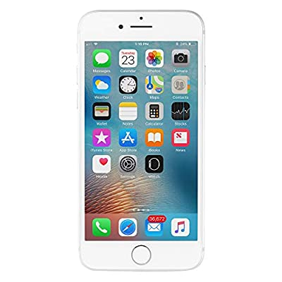 Apple iPhone 7, 32GB, Silver - Fully Unlocked (Renewed) by Apple Computer