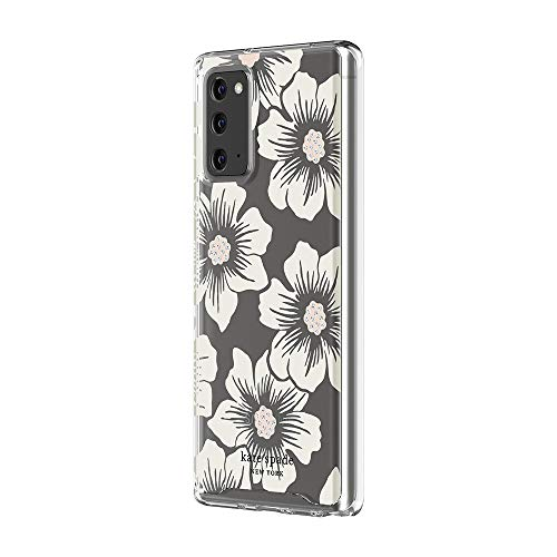 kate spade new york Protective Hardshell Case for Samsung Note 20 & Samsung Note 20 5G - Hollyhock Floral Clear