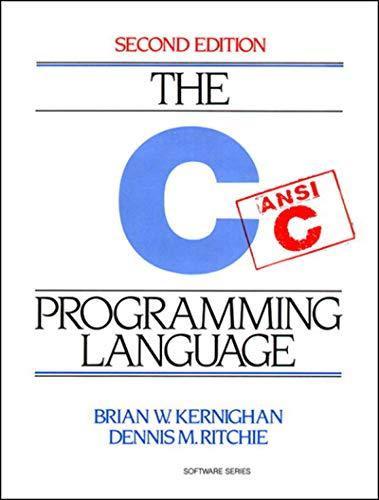 C Programming Language (English Edition)