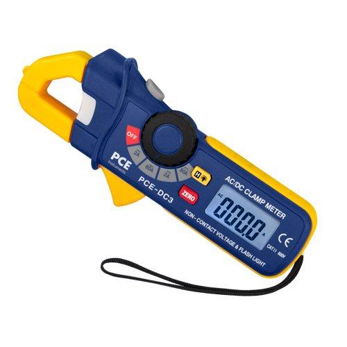 PCE Instruments PCE-DC3 bis 80A AC/DC Stromzange, Multimeter