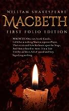 Macbeth: First Folio Edition