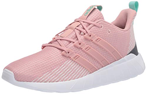 adidas Women's Questar Flow Sneaker, Pink Spirit/Pink Spirit/Grey Six, 9 M US
