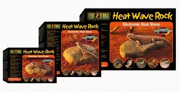 Exo Terra Heat Wave Rock, elektronischer Wärmestein mittel, 10 Watt