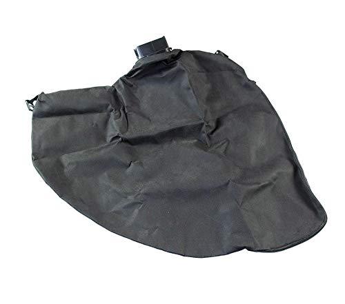 gartenteile Laubsauger Fangsack passend für Grizzly Tools ELS 2500/8 Elektro Laubsauger Laubbläser. Auffangsack für Laubsauger mit eckigem Anschluss und Reißverschluss zum entleeren.
