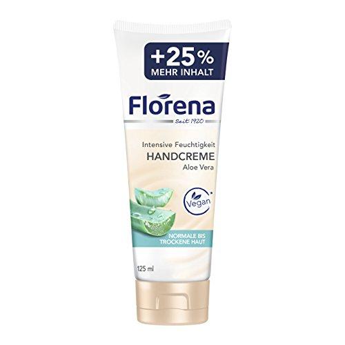 Florena Handcreme mit Aloe Vera, 6er Pack (6 x 100 ml + 25 ml)