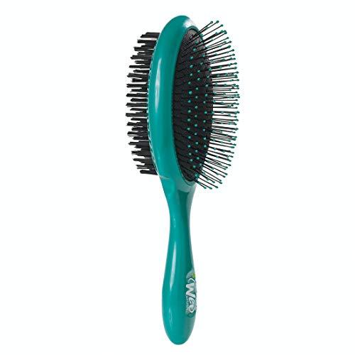 Wet Brush Pet Brush, Ultimate Groomer 2-in-1 Detangler - Teal, Blue