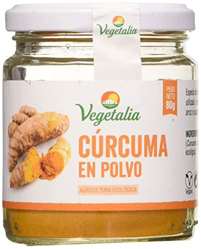 Vegetalia, Cúrcuma en polvo - 80 gr.