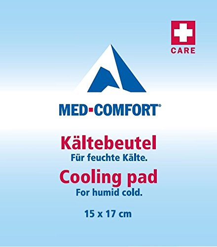 med-comfort® 10 Stück Kälte Sofort 15 x 17 cm Kompressen Kühlkompresse Sportkompresse Kaltkompresse Eiskompresse Kühlkompresse