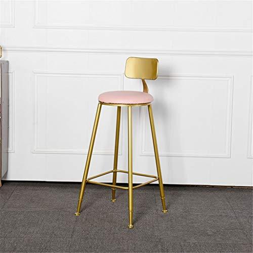 Tuqia Meubels restaurant kruk smeedijzeren barstoel café rugleuning hoge stoel bloemenwinkel reception kruk met pedaal 3 kleuren woonkamermeubels stoelen