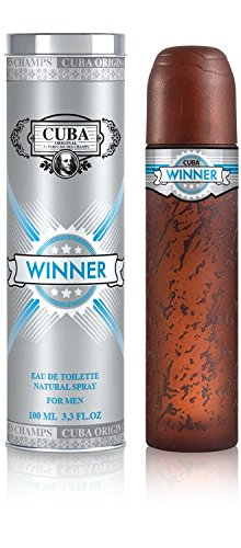 Cuba Winner Spray for Men, 3.3 Ounce