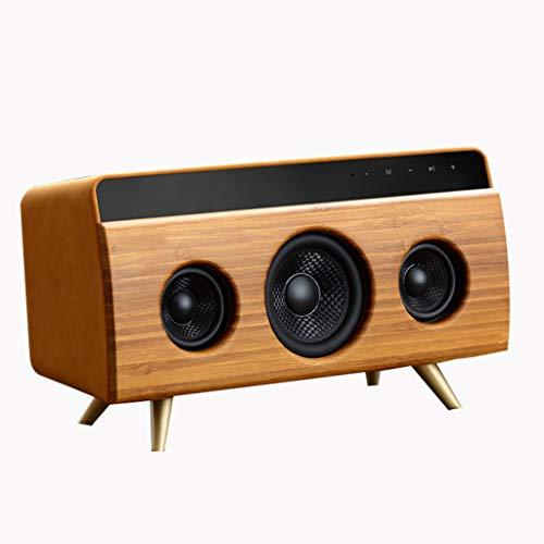 GJF Bluetooth luidspreker retro mini luidspreker home auto overgewicht subwoofer (Color : B)