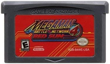 Jhana Mega Man Battle Network 4 Red Sun 32 Bit Game for Nintendo GBA US Version (Reproduction)