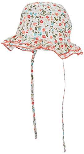maximo Baby-Mädchen Hut Sonnenhut, Mehrfarbig (Begonie-Blumen 84), (Herstellergröße: 49)