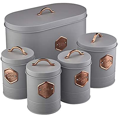 Cheap Cooks Professional Kitchen Storage Canister Set 5