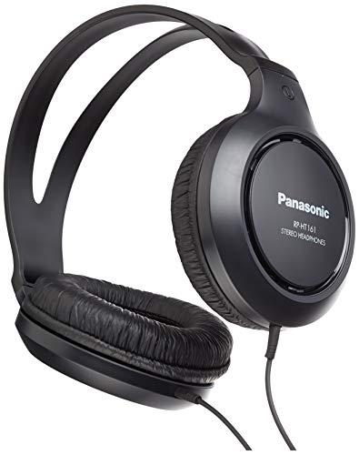 Panasonic RP-HT161E-K - Auriculares de diadema cerrados, negro (Versión Importada)
