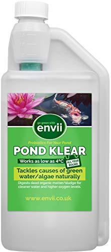 Envii Pond Klear - Alguicida Para Estanques que Utiliza Microorganismos Beneficiosos Para...
