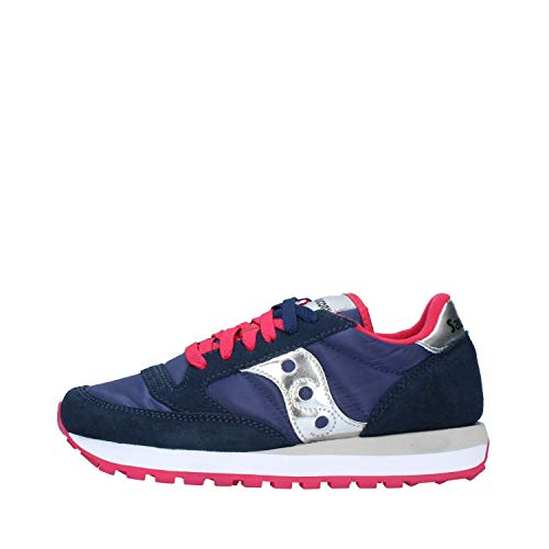 Saucony Jazz Original, scarpe per ellittica, da donna, (Blue Pink), 36 EU
