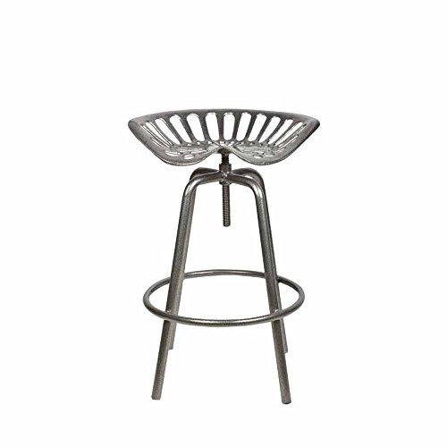 Esschert Design Traktorsitz, Gartenstuhl aus Metall