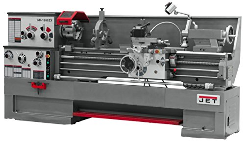 Fantastic Deal! JET GH-1660ZX TAK Lathe with Taper Attachment Installed