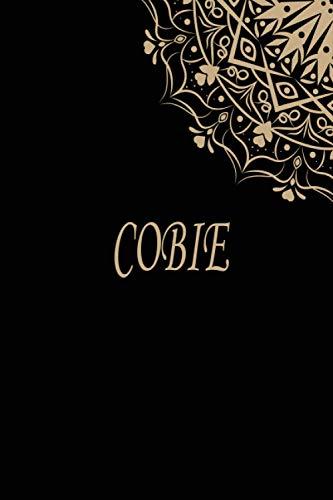 Cobie: Gepersonaliseerd naamnotitieboekje   Persoonlijke naam Cobie   6 x 9 inch (15,24 x 22,86 cm)   110 pagina's: notitieboekje voor het schrijven ... maken, creatief schrijven, schoolnotities