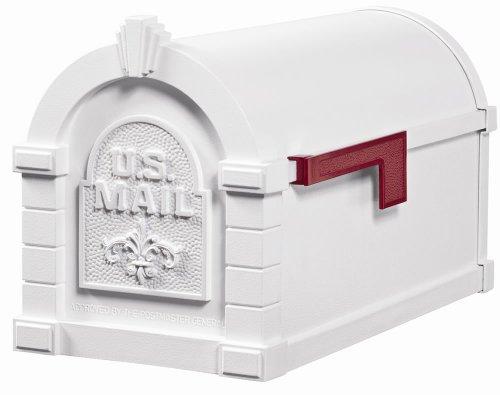 Gaines KS-15A - Eagle Keystone Series Mailboxes - White/White