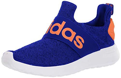 adidas Unisex-Kid's LITE Racer Adapt K Sneaker, Collegiate Royal/Solar Orange/FTWR White, 3 M US Little Kid