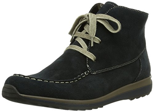ara Hampton, Damen Kurzschaft Mokassin Boots, Blau (ozean -99), EU 37 (UK 4 / US 6.5)