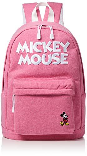 [ディズニー] リュック スウェットリュック ミッキー ミニー カラバリ かわいい おしゃれ 通学用 DMK-MBBK08 杢ピンク One Size