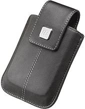 BlackBerry Rim 9530 Storm Vertical Leather Case Black Retail Package - HDW-18969-001