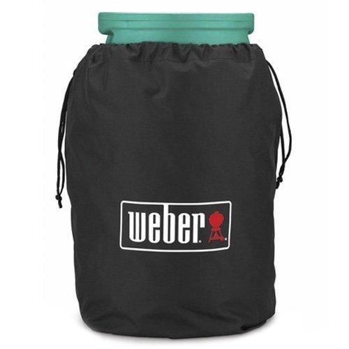 Weber Gasflaschenschutzhülle für 11 kg Flasche, schwarz, 15.9 x 22.7 x 3.8 cm, 7126