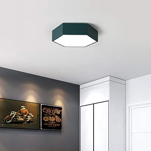 WFSDKN Plafondlamp, moderne led-plafondlamp, diamant, voor binnen en buiten, creatieve persoonlijkheid, studeerkamer, eetkamer, balkon
