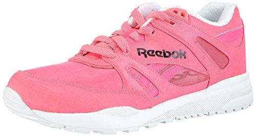 Reebok Damen Ventilator Day Glo Laufschuhe, Pink (Solar Pink/White/Black), 40.5