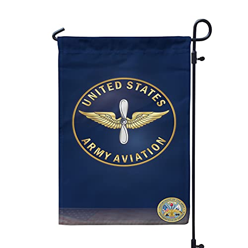 US Army Aviation Double Sided Garden Flag 12x19 Inches