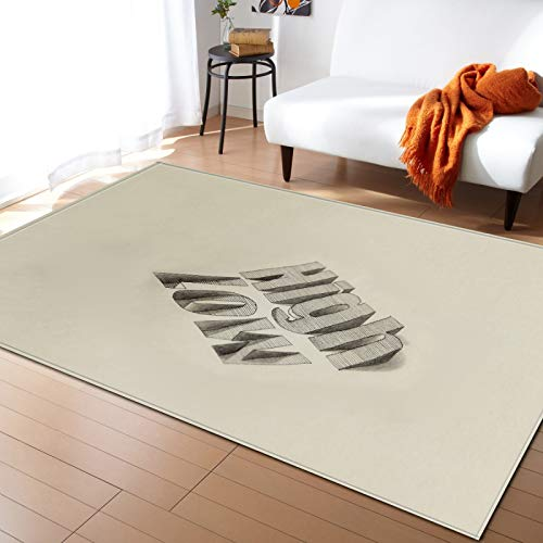 Nordic Modern 3D Digital Printing Floor Mats Non-Slip Soft And Thick Decorative Carpet Living Room Bedroom Hotel Party Carpet