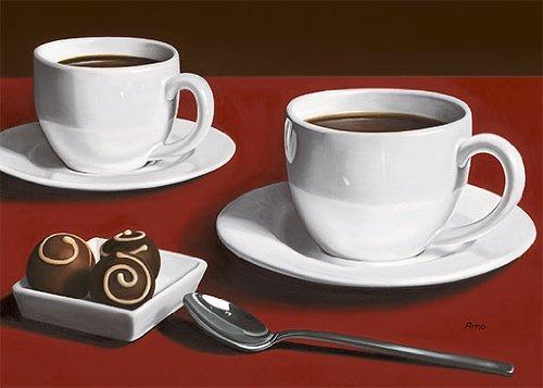 Platinart Eurographics H-B-KAR1202 K. Arnold, onze passie voor chocolade, 17 x 23 cm, decoratieve foto, geen omlijsting nodig