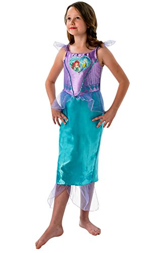 Rubies Disfraz infantil Loveheart de la Sirenita Ariel, para nias, talla XL, edad 910 aos