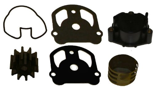 Tungsten Marine Comprehensive Water Pump Kit for OMC Cobra with New Housing Replaces 984461 and 984744