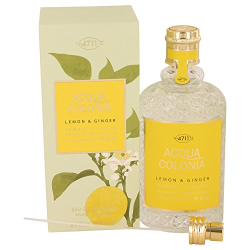 4711 – Acqua Colonia Lemon & Ginger Eau de cologne Spray (Unisex) by maurer & Wirtz