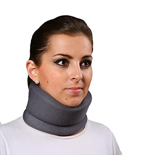 Collarín cervical blando- Emo (Color gris) talla s (38 cm)