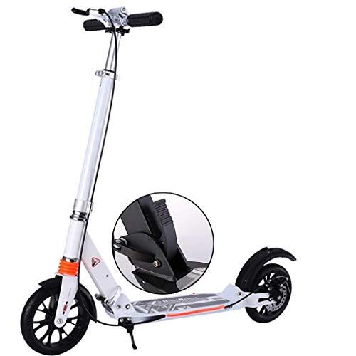 Scooter de pie Ciudad plegable herramienta de viaje de trabajo del campus de la ciudad, Campus scooter de aluminio que no sean eléctricos scooters de rueda estándar Amortiguadores pie trasero Frenos S