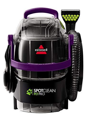 For Sale! BISSELL SpotClean Pet Pro Portable Carpet Cleaner, 2458 (Renewed)