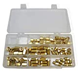ASD 3/16' and 1/4' Brakeline fittings kit (nuts, unions, compression fittings) 70 Pieces
